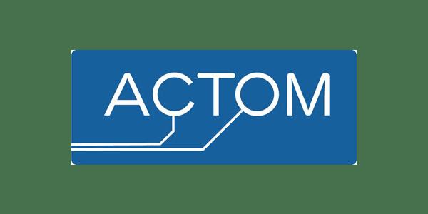 Select Client - Actom Logo