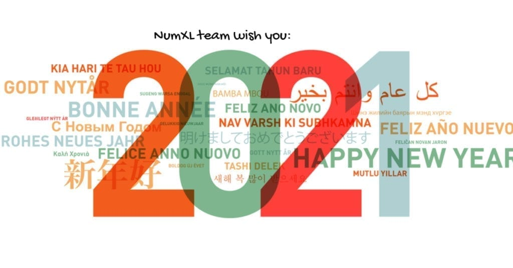 Happy new year from NumXL!